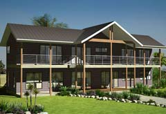 Kit home designs prices steel kit homes for 4 bedroom kit home prices