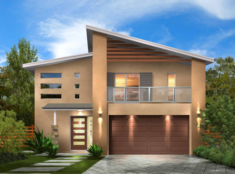 The metro kit home for Steel home plans designs