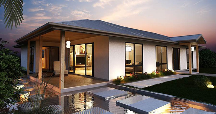 Kit homes steel kit homes granny flats nsw qld for Granny homes